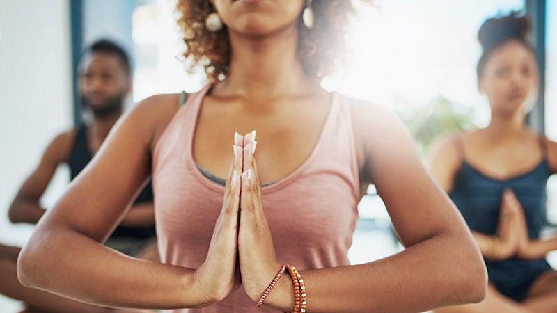 """""""Meditation Hands"""