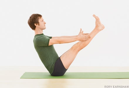 Get Strong to Your Core with Paripurna Navasana (Full Boat Pose)