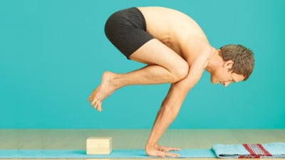 yoga poses  learn how to come into crane crow pose
