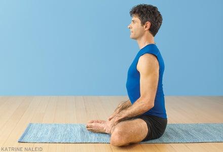 welcome discomfort in baddha konasana bound angle pose
