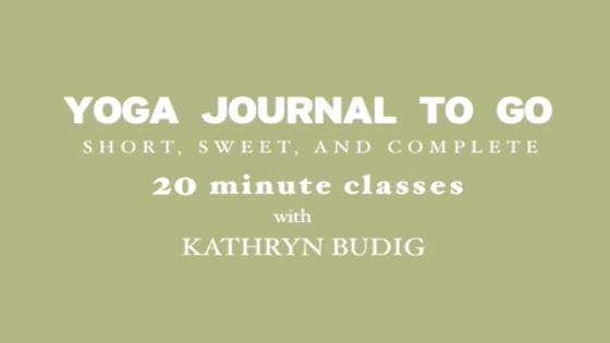 yoga videos  kathryn budig's moveandsweat vinyasa sequence