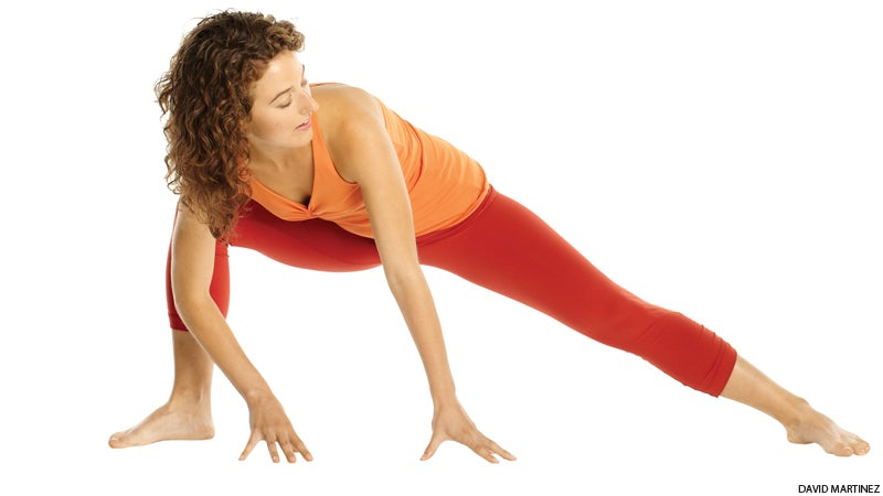 Anjaneyasana (Low Lunge)