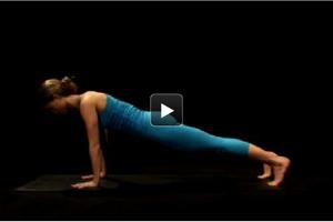 Watch + Learn: Plank Pose