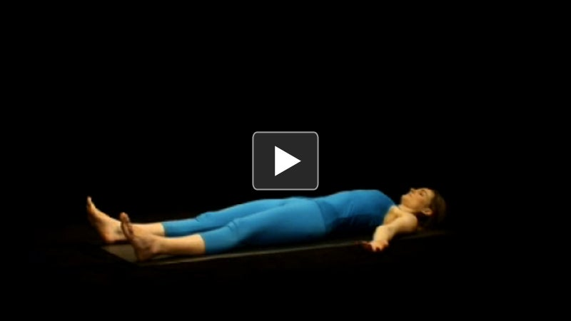 Watch + Learn: Corpse Pose