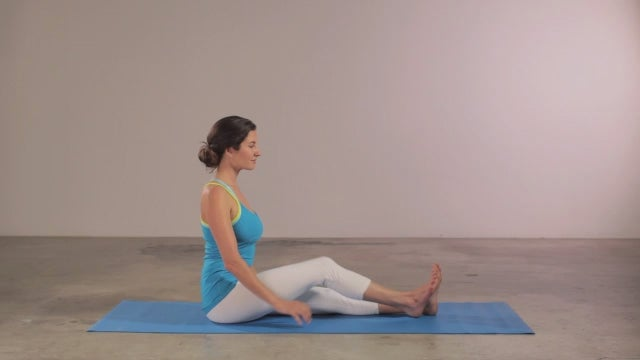 yoga for beginners  head of the knee pose