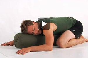 Watch: The Comforting Restorative Yoga Practice