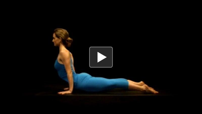 yoga videos  chaturanga dandasanaurdhva mukha svanasana