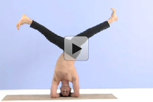 Video: Prep for Revolved Split-Legged Headstand