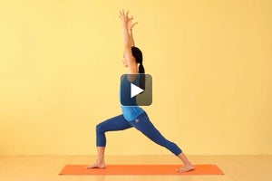 Watch + Learn: Warrior I Pose