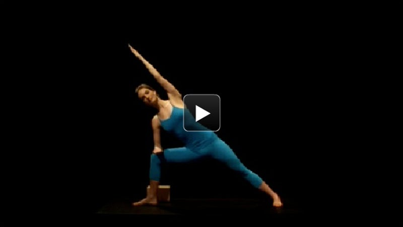 Watch + Learn: Extended Side Angle Pose