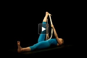Watch + Learn: Reclining Hand-to-Big-Toe Pose