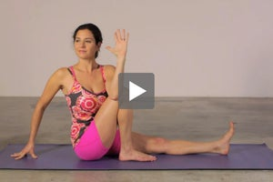 Watch + Learn: Marichi's Pose