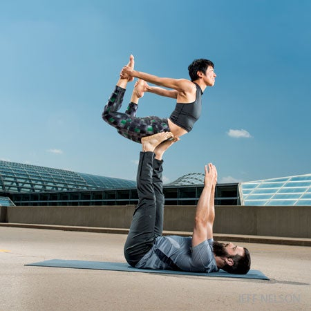 acroyoga 101 a classic sequence for beginners