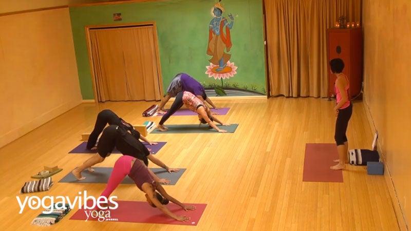 Vinyasa Yoga: Tips on Alignment + Breath for Beginner Yogis