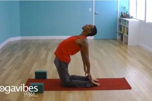 Camel Pose (Ustrasana): Pose Instructions + Variations with Blocks