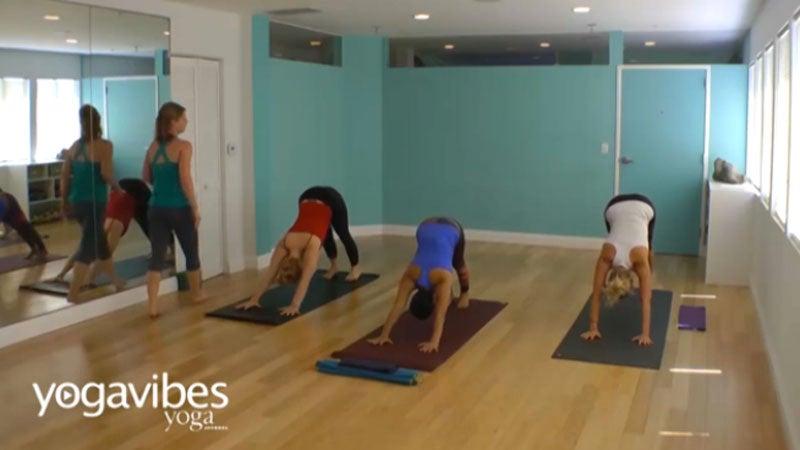 Vinyasa Flow: A Yoga Practice to Warm + Energize Your Body