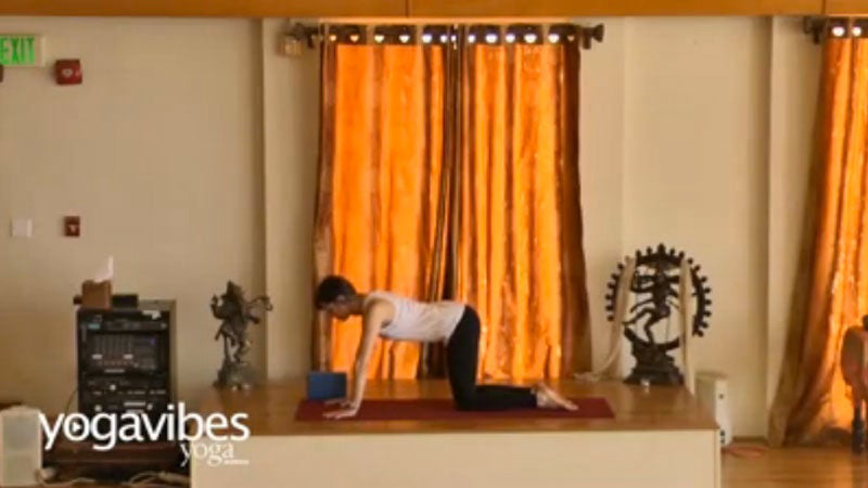 Hip Opening Yoga Flow to Create Space in Your Front Body