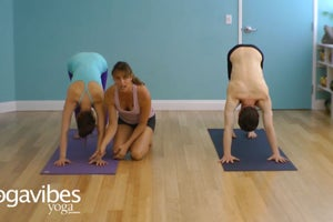 Find Proper Arm Alignment in Downward Facing Dog