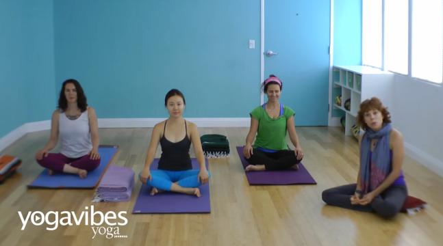 Beginner's Pranayama: Yoga Breathing Practice with Jeanne Heileman