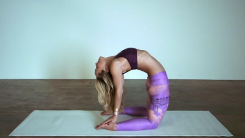 Yogapedia Video: Camel Pose (Ustrasana)
