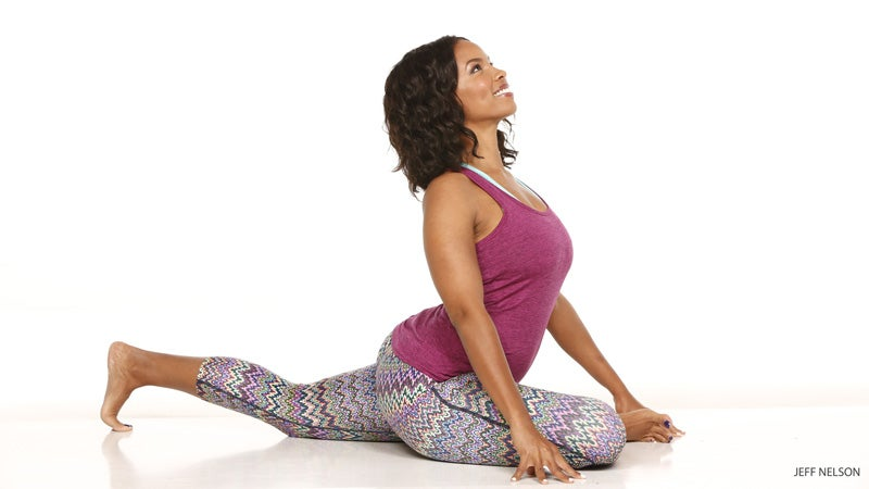 wide-angle seated forward bend, upavistha konasana