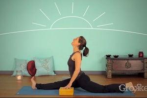 Yoga Splits: Warm Up & Find Proper Alignment in Hanamunasana
