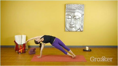 How to Move into Side Plank Pose