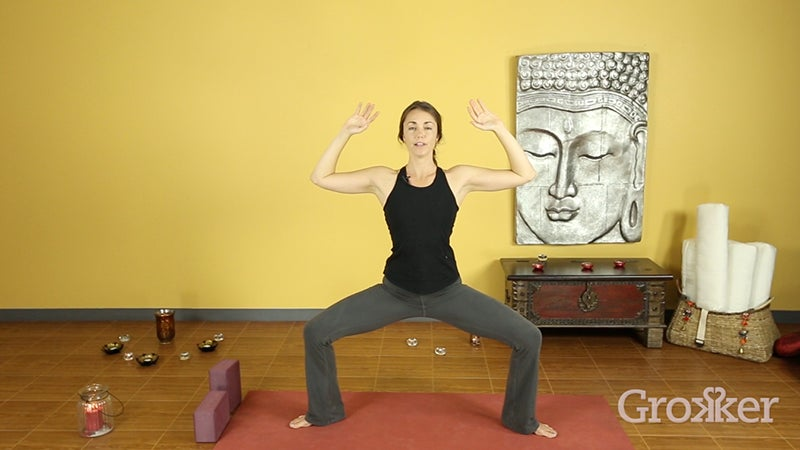 Master Goddess Pose with Sierra Campbell