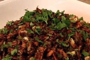 The Natural Gourmet: Curry-Lime Kaniwa Salad
