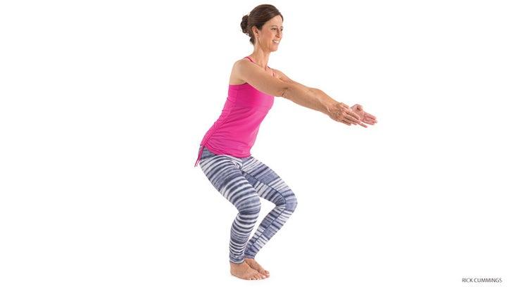7 Steps To Master Garland Pose Malasana Yoga Journal