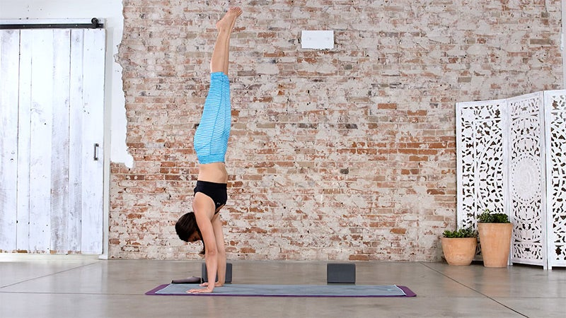 Challenge Poses: The Best Handstand Tip You've Never Tried