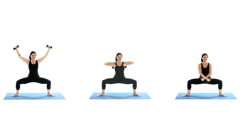 Yoga + Weights: Challenge Your Strength in Goddess Pose