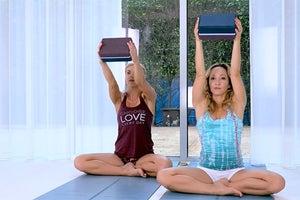 Warm Up for Handstand with Kino MacGregor & Kerri Verna