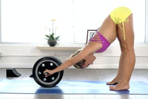Kino MacGregor's Pre-Practice Core Work with the Yoga Pro Wheel