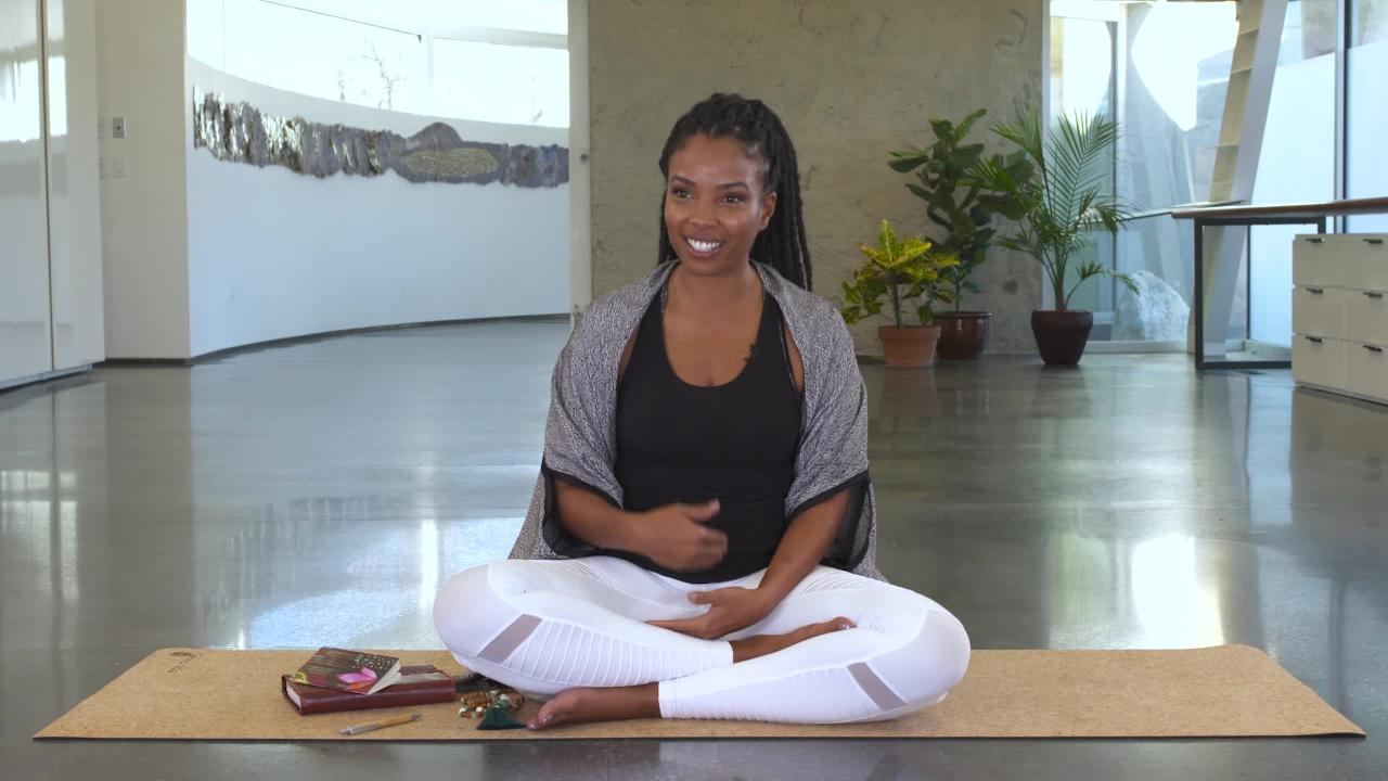 Chelsea Jackson Roberts Shares Her Personal Yoga Story