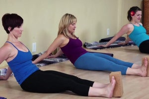 Add Some Pulling to Your Practice with Dandasana Slides