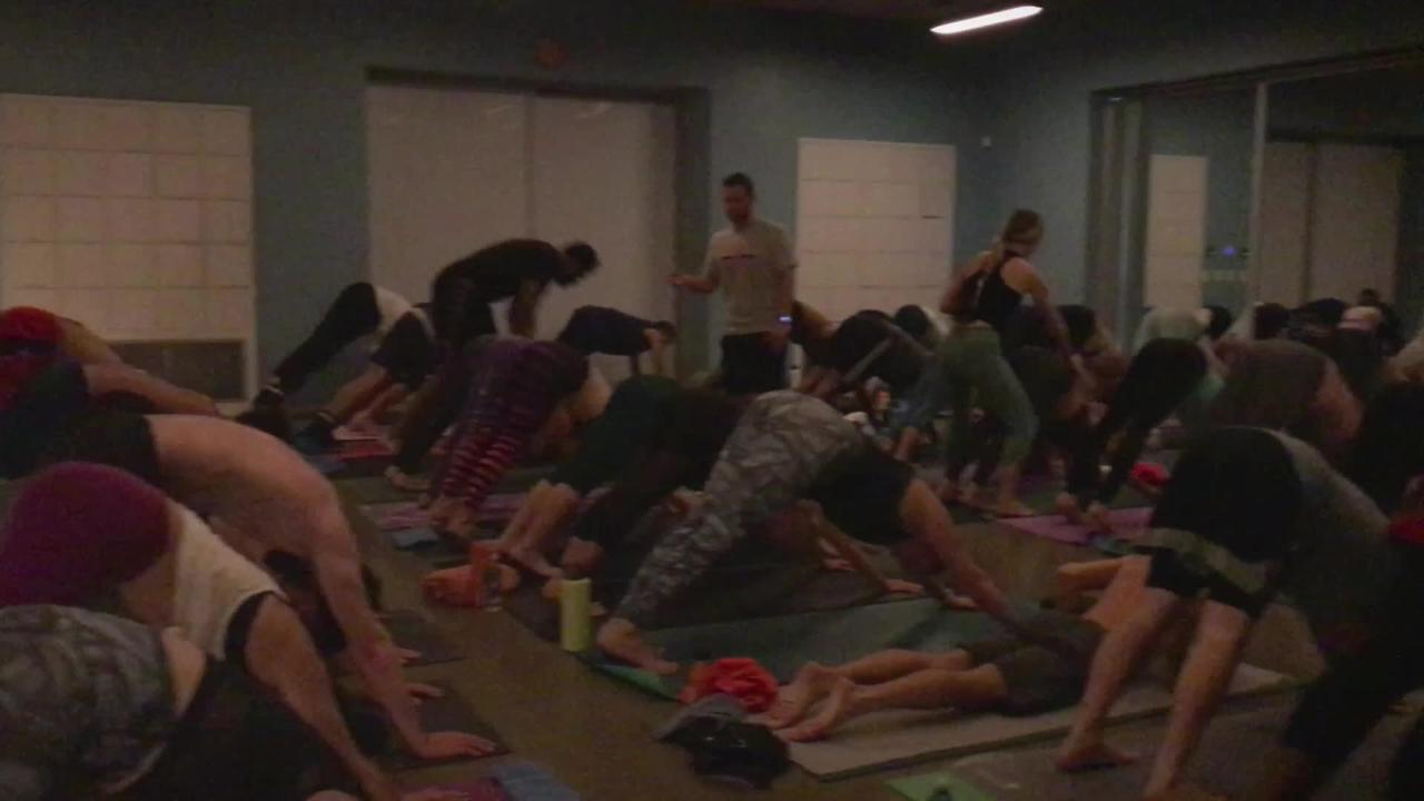 Live Be Yoga Practices With the Phoenix Suns