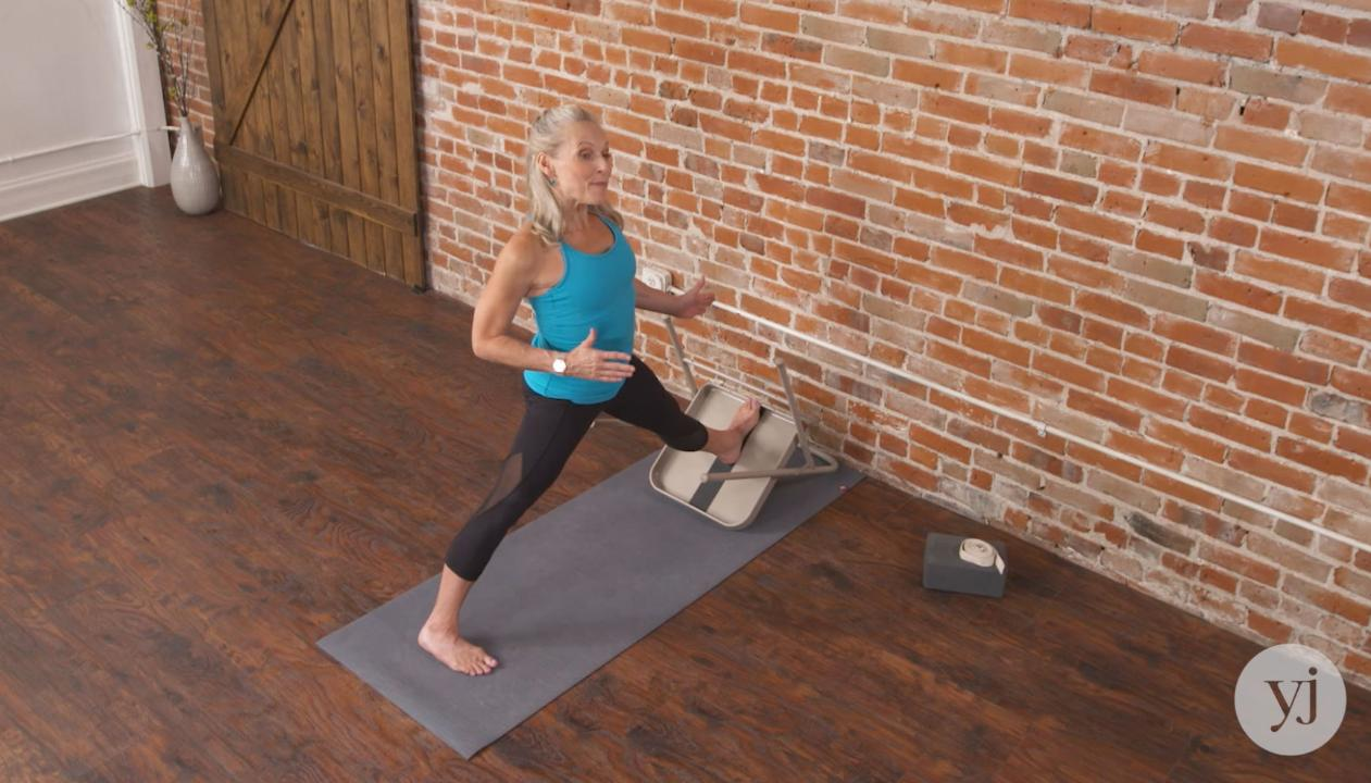 Master Class: 2 Iyengar Variations for an Effortless Extended Side Angle Pose
