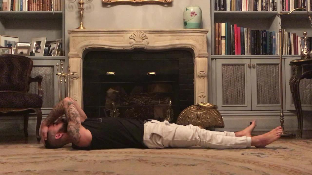 A Nervous System–Settling Sequence (with Self-Reiki!) to Prepare for Sleep with Benjamin Sears