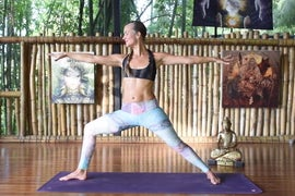 VIDEO: Graceful Warrior Sequence for Your Third Chakra with YJ Influencer Sofiah Thom