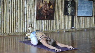 VIDEO: Creative Spinal Warm-Up to Ground the Root Chakra + Express Who You Really Are