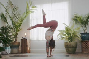 How An Inversion Practice Changed Irene Pappas' View on Yoga