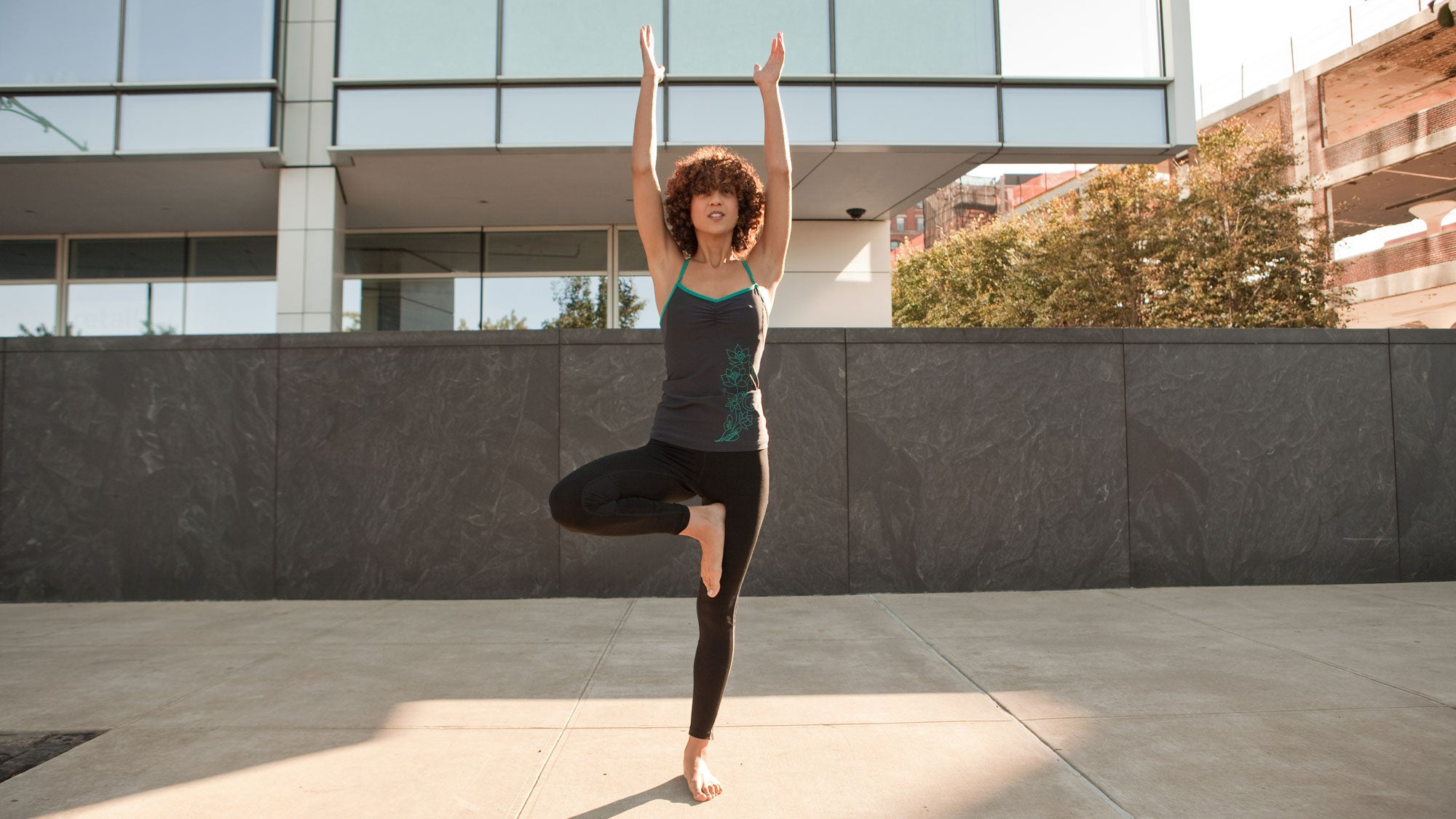 Inspire Stability & Fluidity with This Short Tree Pose Flow