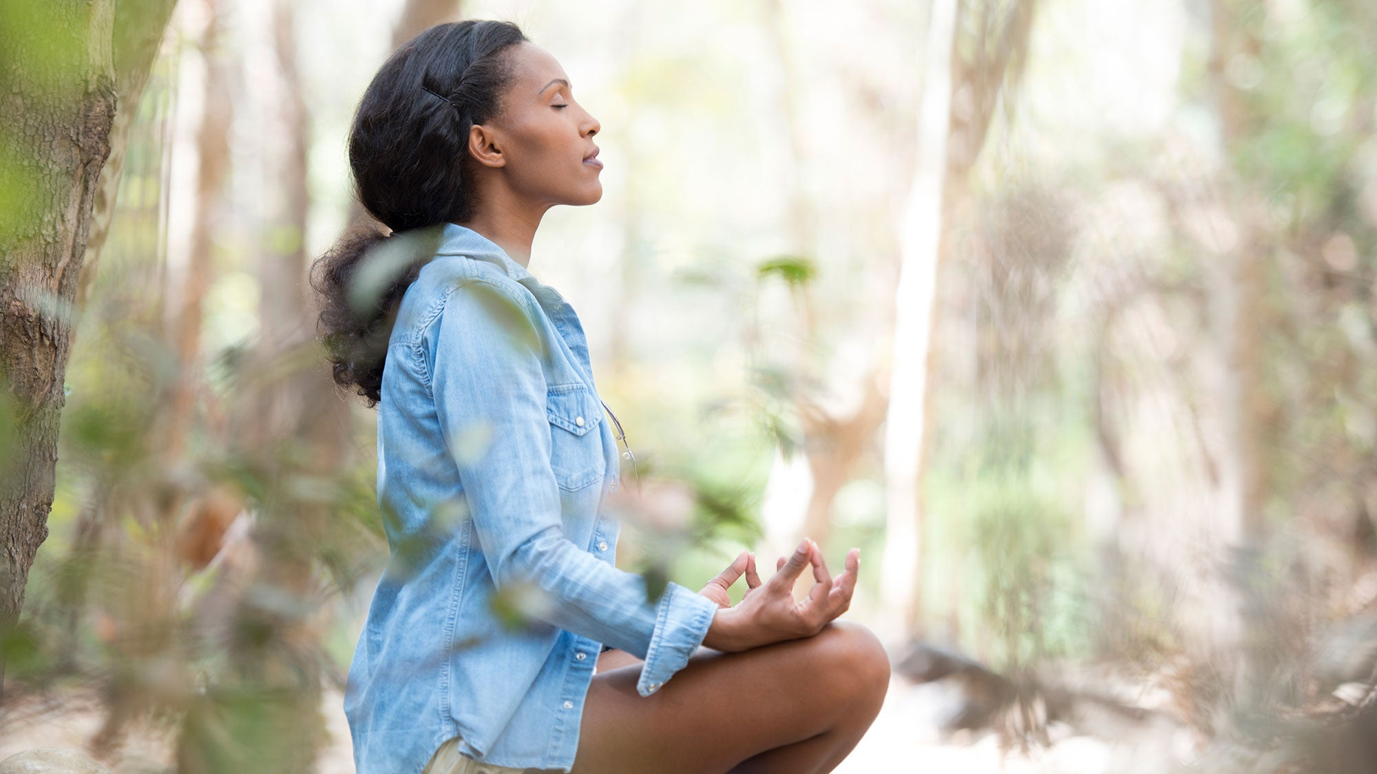 Feeling Scattered? Center Yourself ASAP with a 10-Breath Meditation