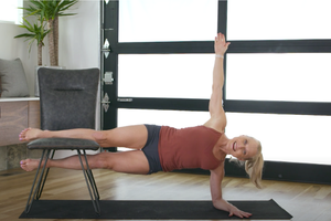 This Iyengar-Inspired Chair Challenge Is Fun—and Seriously Works Your Muscles