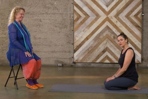Energy Medicine Yoga: This Variation on Eye-of-the-Needle Pose Boosts Vitality