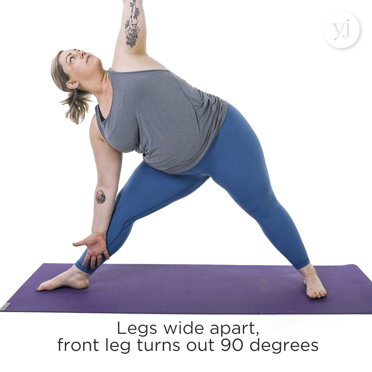 Extended Triangle Pose Cues