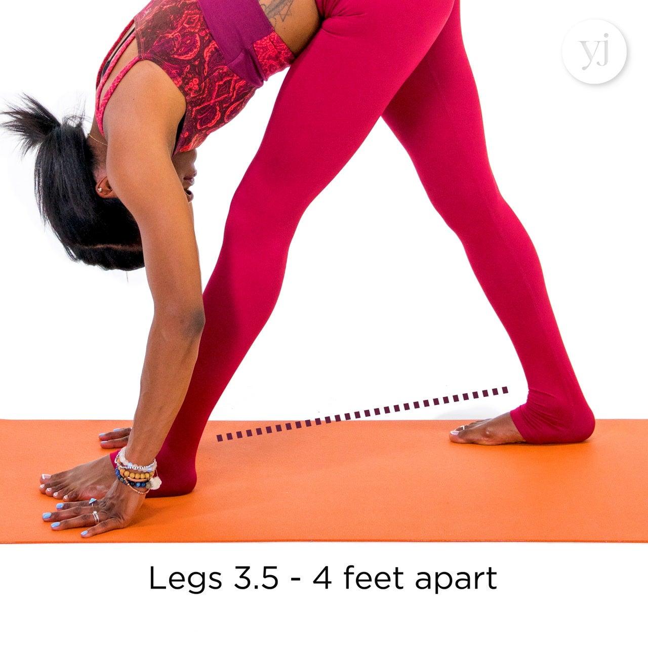 Intense Side Stretch Pose (Parsvottanasana)