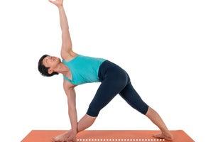 Revolved Triangle Pose (Parvritta Trikonasana)