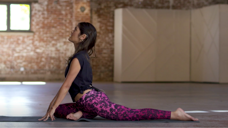Find the Deeper Meaning of Ahimsa Through a Pigeon Pose Mini-Practice